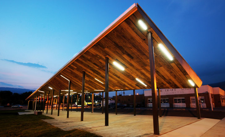 Va Tech Architecture Students Complete The Prefabricated