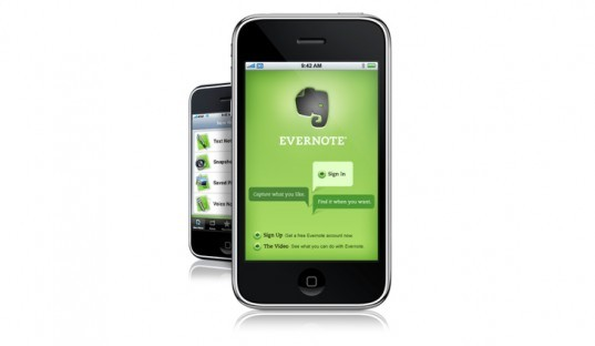 Evernote Note Taking App, green technology, greener gadgets, sustainable design, green design, eco gadgets, green products, green computer, back to school buying guide, clean technology