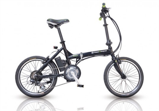 Fast4ward Edge Folding Electric Bike, green gadgets for back to school, green technology, greener gadgets, sustainable design, green design, eco gadgets, green products, green computer, back to school buying guide, clean technology