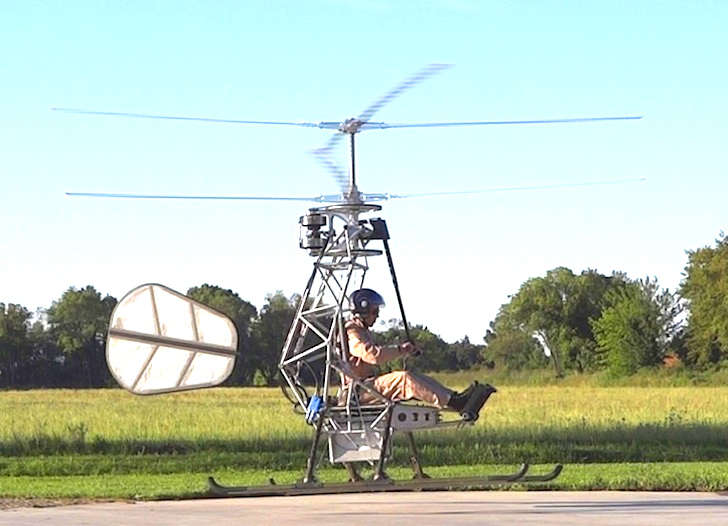 World's First Manned Electric Helicopter Takes Flight!
