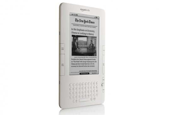 Kindle E-Reader, green gadgets for back to school, green technology, greener gadgets, sustainable design, green design, eco gadgets, green products, green computer, back to school buying guide, clean technology
