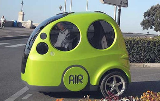 Ku:Rin, Toyota Kurin, compressed air vehicle, compressed air car, green automotive design, green transportation, alternative transportation, air car, speed record, air car speed record, Toyota Industries
