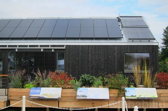 middlebury college, solar decathlon, 2011 solar decathlon, self-reliance house, middlebury college self-reliance, solar power, local materials, vermont materials, middlebury college solar decathlon, self reliance solar decathlon, solar power home