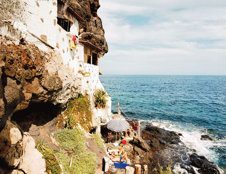 Delightful Rocks In Spanish Part - 14: Spectacular Hand-built Homes Blossom Out Of Coastal Rocks In Spanish Canary  Islands