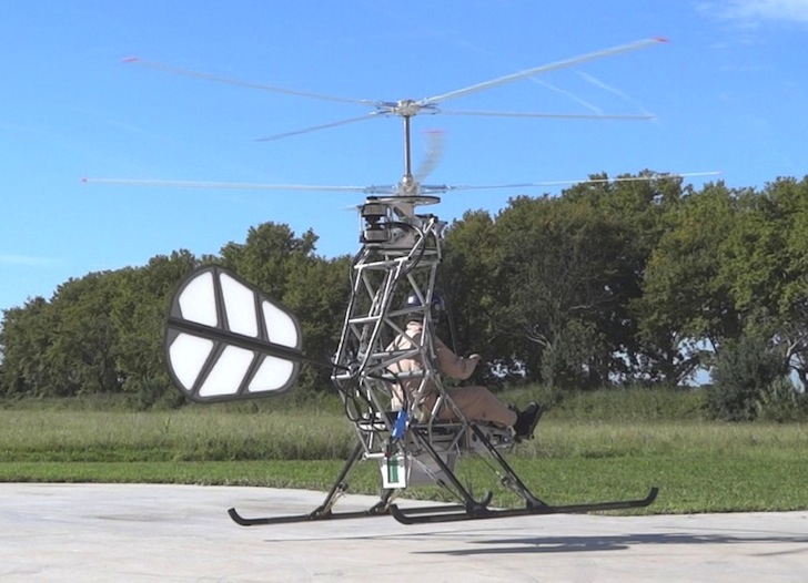 how to build a personal helicopter