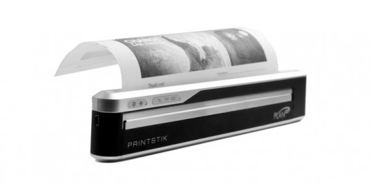 PrintStik Ink-Free Portable Printer, green gadgets for back to school, green technology, greener gadgets, sustainable design, green design, eco gadgets, green products, green computer, back to school buying guide, clean technology