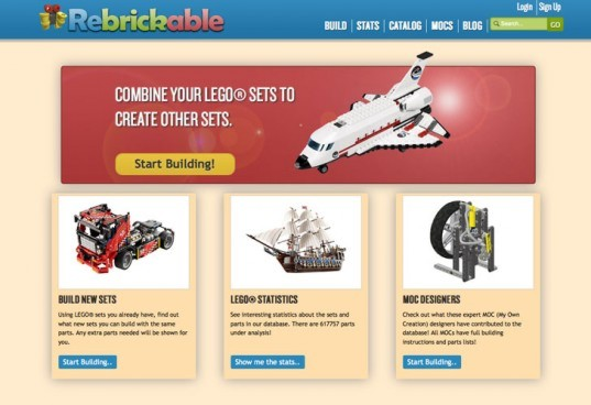 legos, rebrickable, lego website, new structures, lego recycling, lego reuse