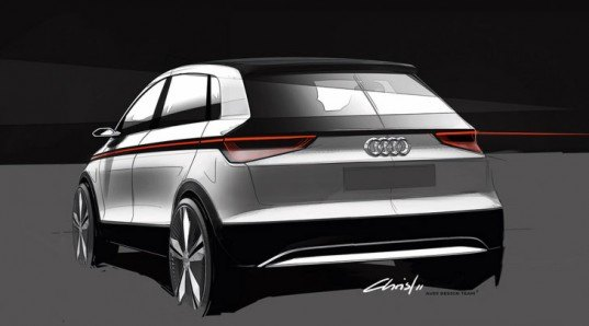 Don T Make Eye Contact Electric Audi A2 Concept Will Pack Laser