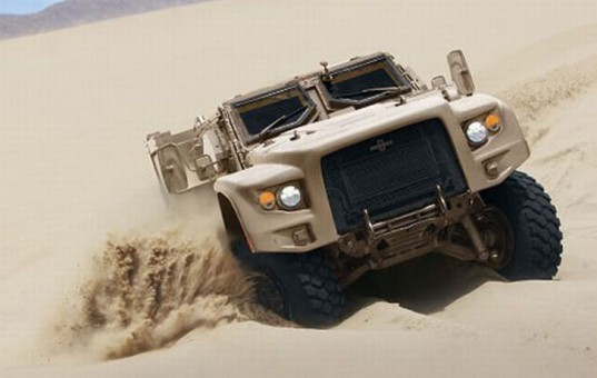Oshkosh L-ATV, hybrid vehicle, hybrid truck, diesel hybrid, electric hybrid, Army hybrid, Army Humvee replacement, green transportation, alternative transportation, green military technology, green military vehicles, Oshkosh Defense