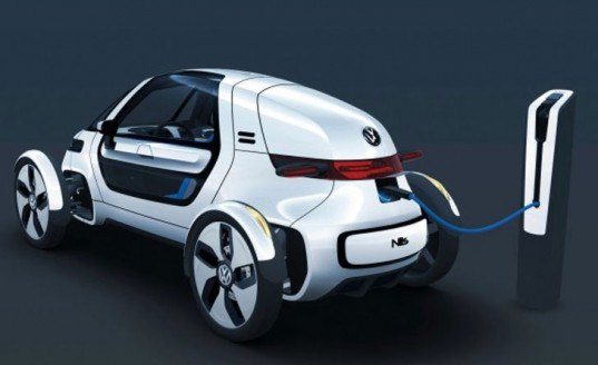 Volkswagen NILS Concept, concept car, Frankfurt Motor Show, electric car, electric vehicle, lithium ion, city car, green transportation, alternative transportation, green automotive design