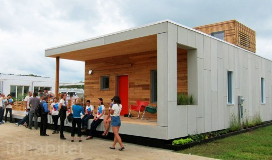 2011 Solar Decathlon, Empowerhouse, empowerhouse solar decathlon, parsons the new school for design, stevens institute of technolgy, affordable green homes, solar power