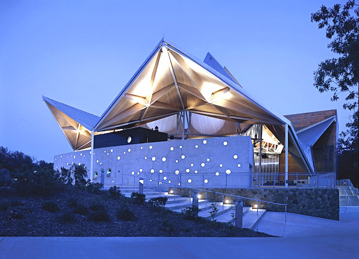 Jeanne Gangs Incredible Origami Shaped Starlight Theater Opens And