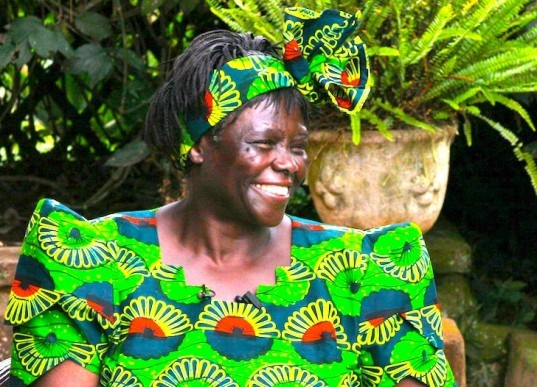 Wangari Maathai, Kenya, Nobel Peace Prize Winner, New York Times, Environmental activist, social justice, The Green Belt Movement, eco-design, sustainable design, green design, plant trees, corruption, cancer