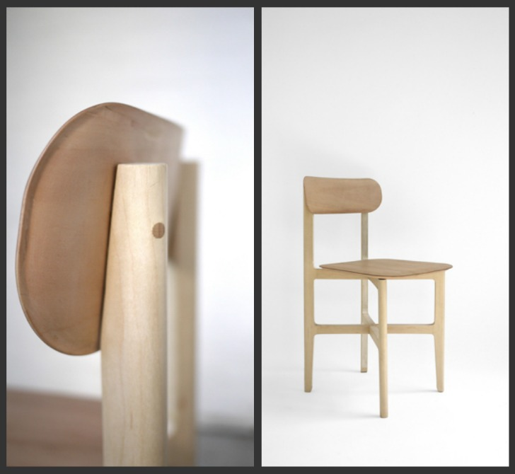Delicate Balsa Wood 1.3 Chair is a Classic and Sustainable Design ...