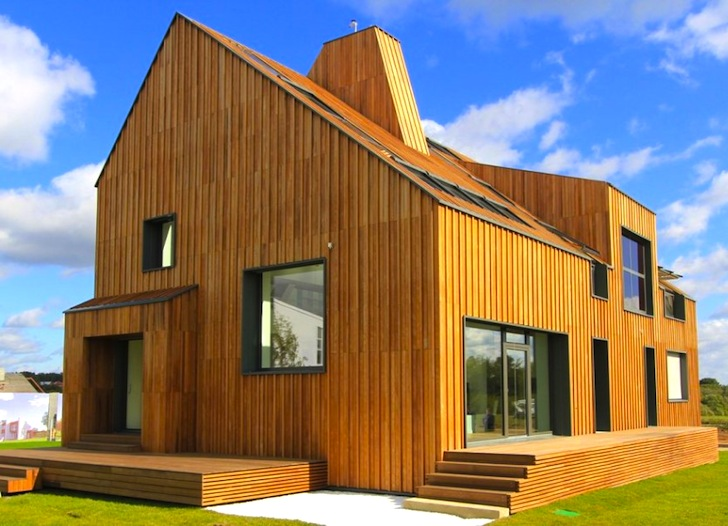 Russia 39 S First Active House Is 7 Times More Efficient Than