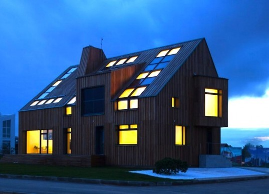 Polygon, polygon lab, skylights, green design, sustainable design, eco design, Active House, BIPV, solar panels, alternative energy, passive design, Crown Prince of Denmark, Moscow, Russian, Polygon Lab, VELUX, carbon emissions, carbon footprint