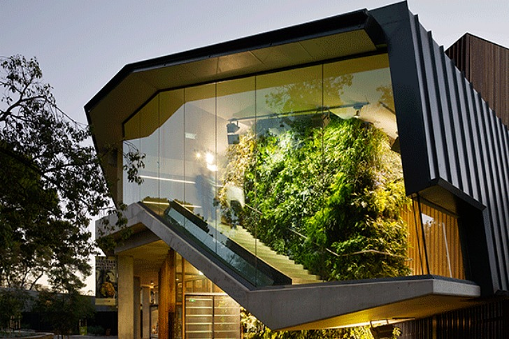 Adelaide Zoo Entrance Boasts Living Walls And A Green Roof
