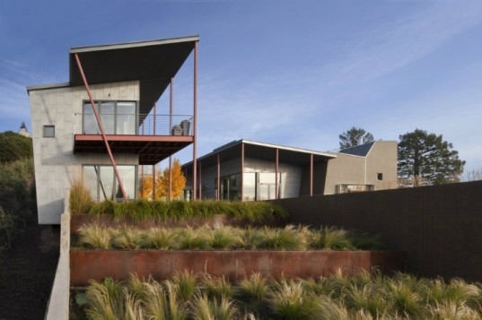 Berkeley Courtyard House, WA Design, solar power, natural ventilation, low maintenance, berkeley, green home