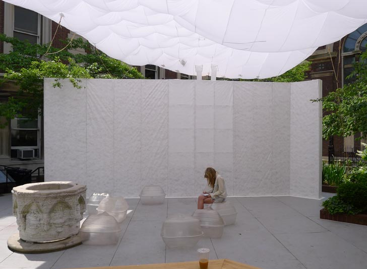 Columbia University Students Design A Composting Public Restroom For The School 39 S Courtyard
