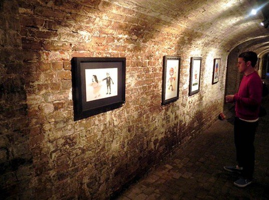Contemporary art, green design, eco design, sustainable design, The Crypt Gallery, London, Claire Pinney, alternative art spaces, St. Pancras Parish Church London