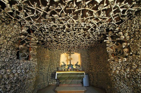 Czermna Chapel, Poland, Capela dos Ossos, green design, eco design, sustainable design, ossuary, bone church, Our Lady of the Conception of the Capuchins, Rome, Sedlec Ossuary, Czech Republic, Monastery of San Francisco, UNESCO world heritage, catacombs, San Bernardino alle Ossa,