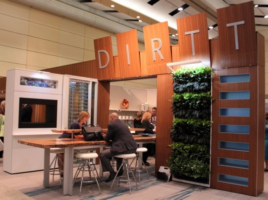 Dirtt, prefab, movable walls, eco, archiecture, modular components, system, building, CAD, specification software, Greenbuild 2011, Canada, green design, sustainable