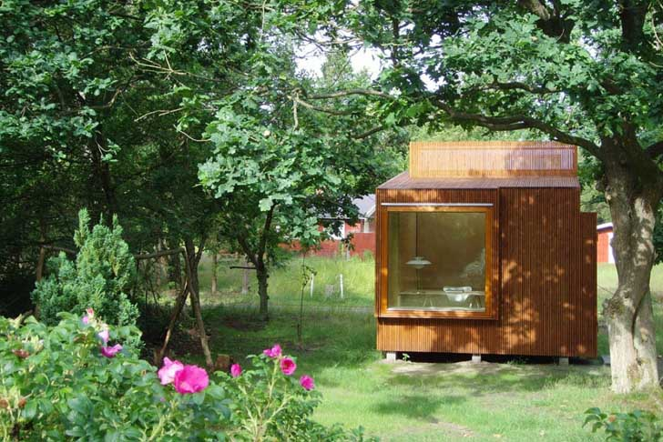 winning small wooden homes. Fantastic Prefab Read Nest is a Tiny Wooden Cube Perfect for Booklovers  Inhabitat Green Design Innovation Architecture Building