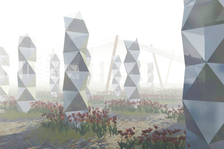 Towering Fog Garden Harvests Water From Thin Air