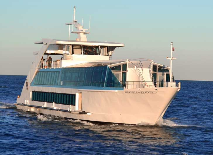 World's First Hybrid-Hydrogen Ferry Arrived in New York City