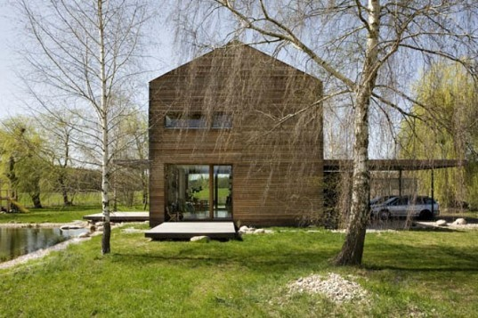 House in Bohumilec, Mimosa Architekti, czech republic, green home, solar passive design