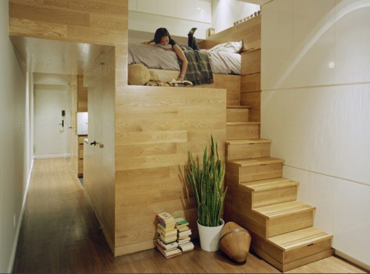 Best Small Spaces 5 super-efficient tiny new york apartments | inhabitat - green