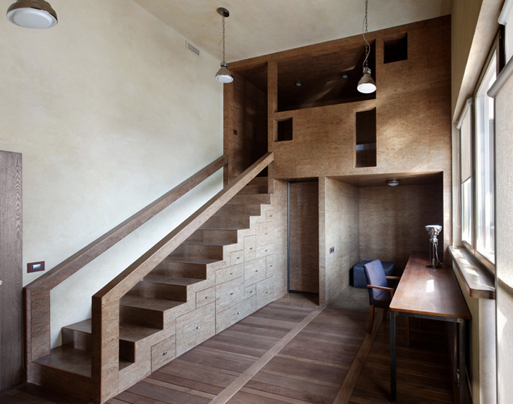 Timber Treehouse Addition Adds Almost 200 Sq Ft Of Living E To Moscow Flat