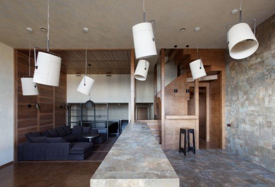 green design, eco design, sustainable design, Peter Kostelov, timber addition, interior addition, Moscow, sustainable timber