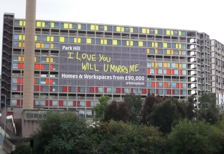 Massive Park Hill Post War Project Being Regenerated Into