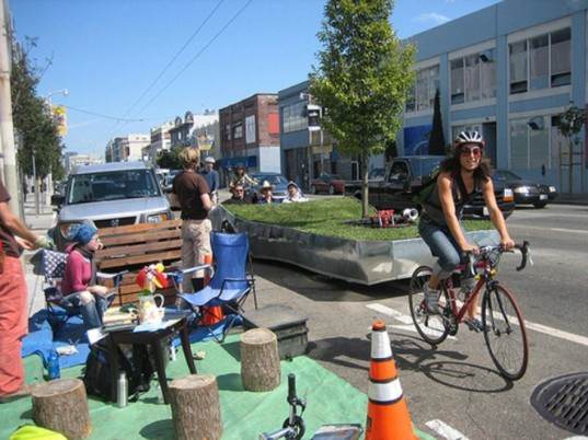 Rebar, Green Design, Bike, Urban Planning, Parklet, San Francisco, Public Space