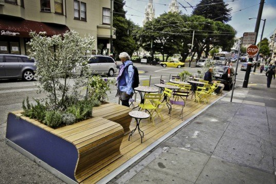 Rebar, Green Design, Urban Planning, Parklet, San Francisco, Public Space