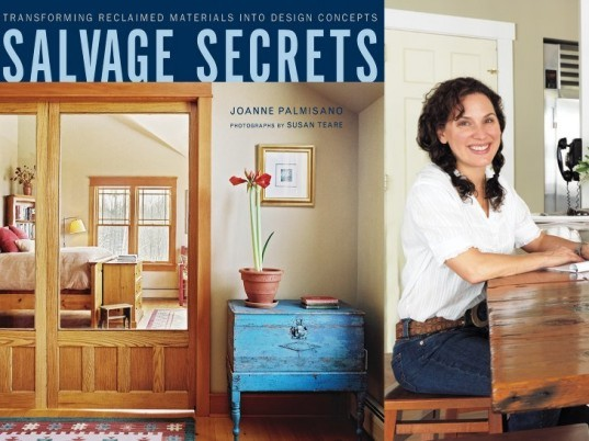 salvage secrets, book giveaway, joanne palmisano, w.w. norton, salvaged materials, green interiors