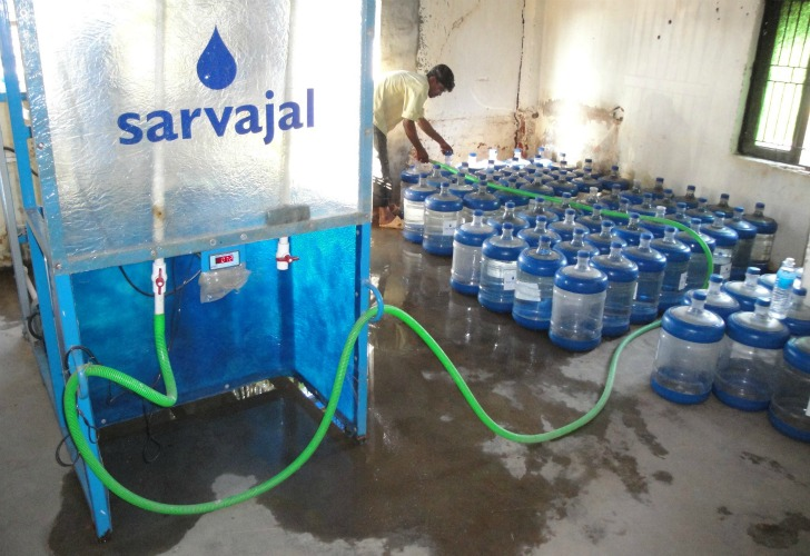 Sarvajal Provides Clean Water Via Solar Powered Water Atm