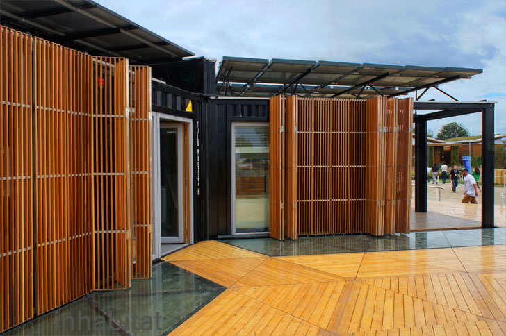 Y Container Solar Decathlon House By Team China