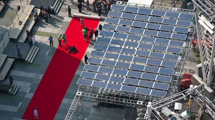 Solar Panels are Front and Center at this Year's Emmys