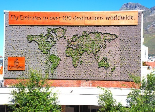 Tractor Outdoor, Cape Town, South Africa, vertical garden, Patrick Blanc, living wall, hydroponics, biodynamic felt, succulents, green design, sustainable design, eco-design, cape town