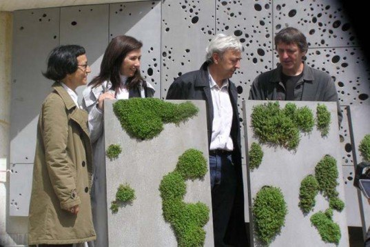 Urban design,Sustainable Building,Green renovation,Green Materials,Botanical,Architecture,spanish design,green wall,hole-punched wall, recycled aluminum,cast aluminum,san sebastian,museum