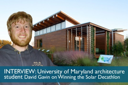 Interview With David Gavin From University of Maryland on the Team WaterShed 2011 Winning Solar Decathlon Home, BIM, Building Information Modelling, Team Maryland, University of Maryland wins 2011 Solar Decathlon