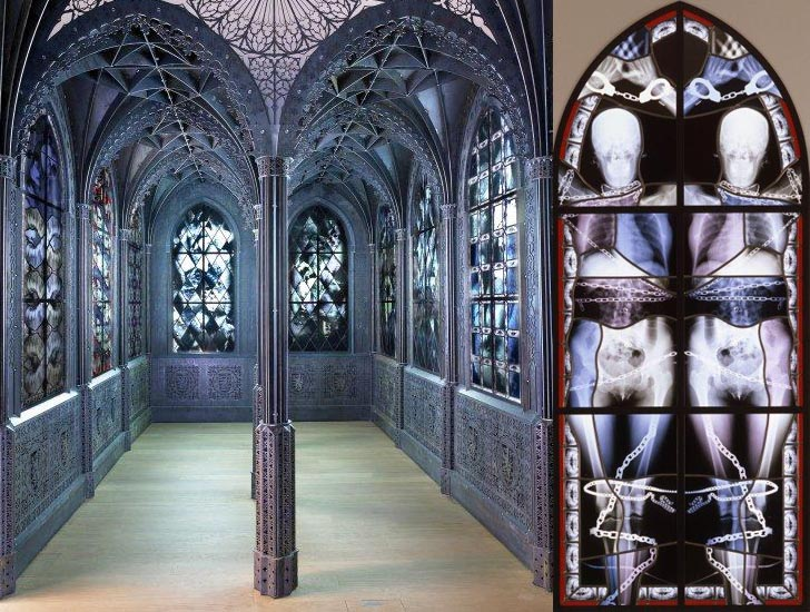 Wim delvoye gothic chapel series inhabitat green for X window architecture