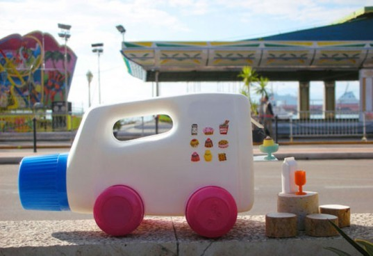 Martine Camillieri, toys, cars, eco toys, recycle