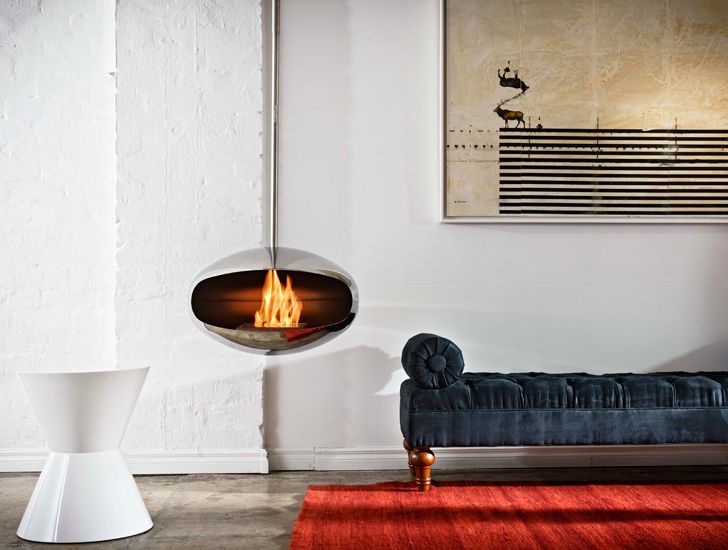 Modern Cocoon Fireplaces Have a Thermal Energy Rating of 75 ...