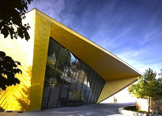Rafael Viñoly, Firstsite Arts Center, is it green, daylighting, recycled materials, BREEAM, Colchester, UK, Golden Banana, Golden Blunder, sustainable design, green design, eco-design, mixed-use development, energy efficiency