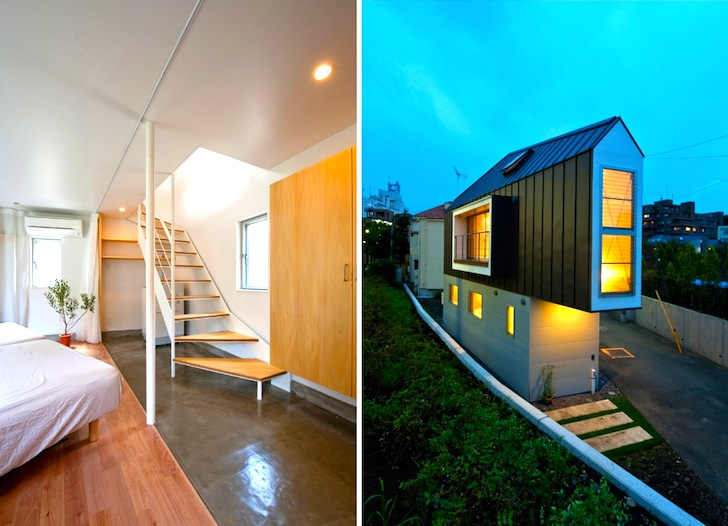 Super skinny Horinouchi House might be the most efficient use of ...