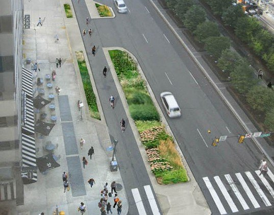 green design, eco design, sustainable design, Philadelphia, bike lanes, green transportation, green commuting