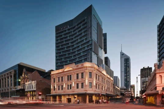 one40william, HASSELL, perth, australia, mixed use building, eco office, green design, sustainable design